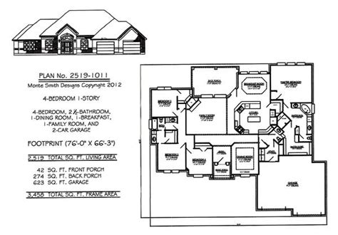 4 bedroom house plans 1 story 4 bedroom 1 story house plans 2301 2900 square