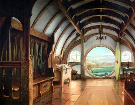 hobbit home interior the of lord of the rings by howe