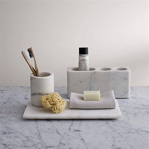 bathroom wall accessories buy lewis white marble bathroom accessories tray