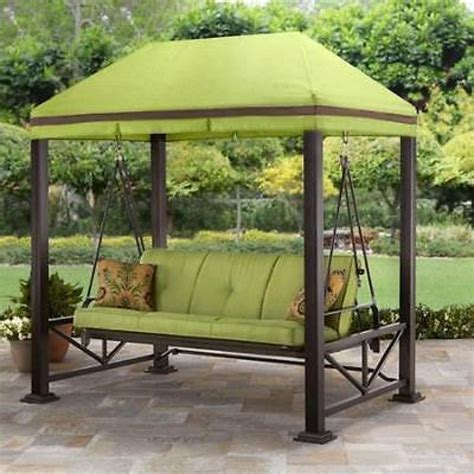 patio gazebo canopy swing gazebo outdoor covered patio deck porch garden