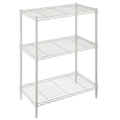 Closetmaid 3 Foot Wire Utility Shelf Closetmaid 24 In Hanging Wire Shelf 1048 The Home Depot