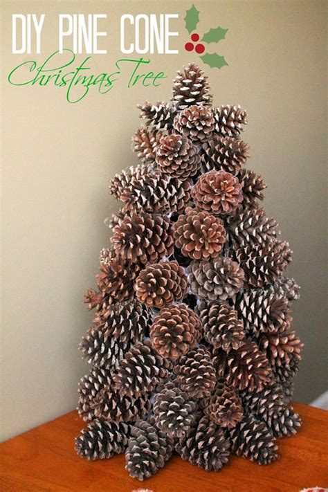pine cone tree craft project winter pine cone crafts story
