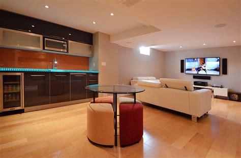 Open Concept Home Decorating Ideas open concept basement ideas