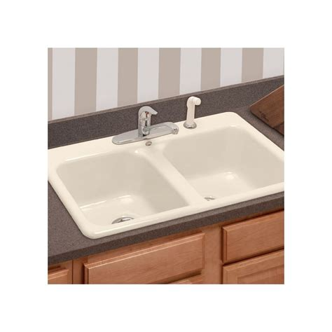 eljer kitchen sink faucet 2121089 96 in biscuit by american standard