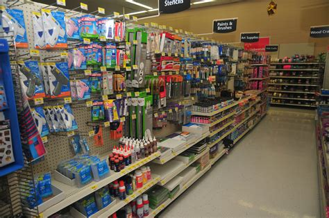 walmart crafts for grocery store aisle dimensions crafts
