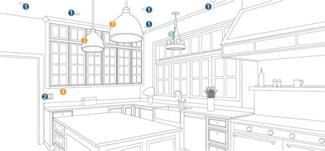 kitchen lighting plan how to light a room lighting planning by room at lumens
