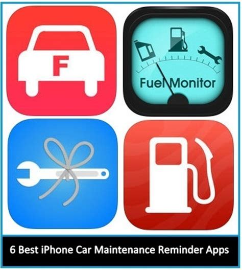 Car Apps For An Iphone by 6 Best Iphone Car Maintenance Apps 2018 Get