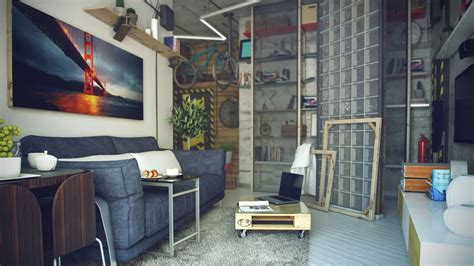 loft style living room casual loft style living