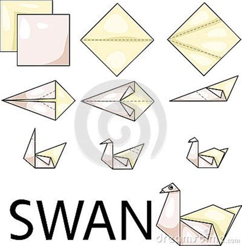 simple origami swan best 25 origami swan ideas on paper swan