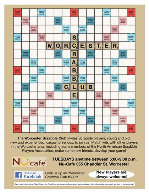 scrabble club flyers for scrabble tournament flyer www gooflyers