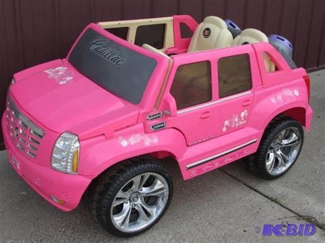Pink Cadillac Power Wheels fisher price power wheels pink cadillac escalade without