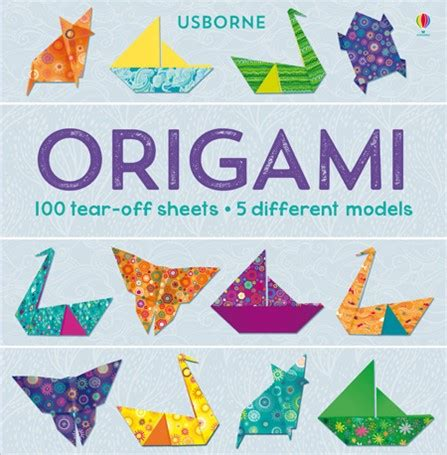 origami books free origami 100 tear sheets at usborne books at home