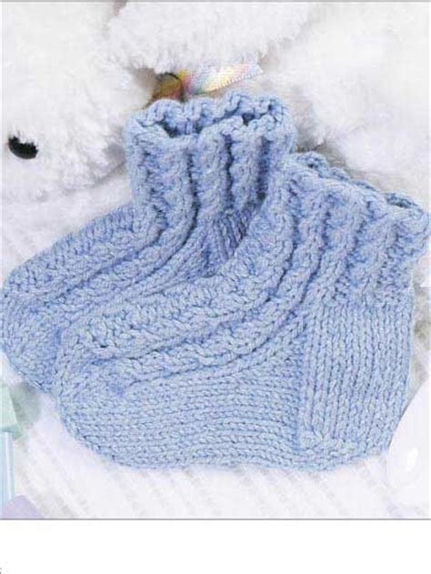 knitting baby socks free baby knitting patterns baby cables bootie socks