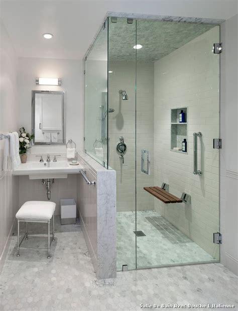 salle de bain avec l italienne with classique chic salle de bain d 233 coration de la