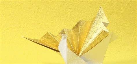special origami how to make a special origami crane with washi paper