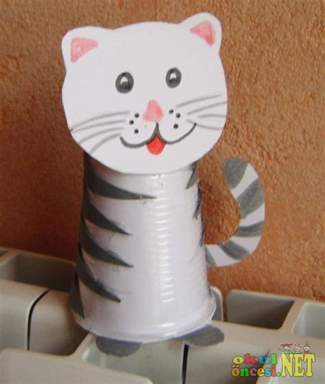 paper cup animals craft crafts actvities and worksheets for preschool toddler and
