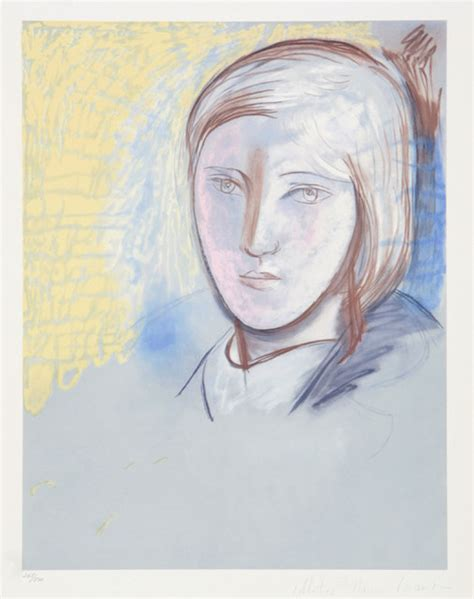 picasso paintings of therese pablo picasso portrait of therese walter 29 1