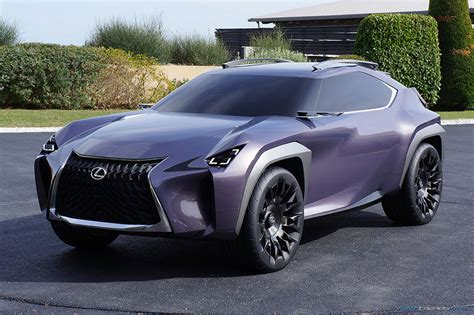 New York Bench by Walkaround The Lexus Ux Concept With Toyota S Ed2 Designers