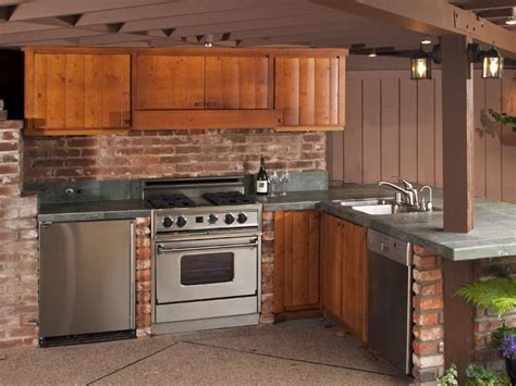 kitchen cabinet pictures ideas outdoor kitchen cabinet ideas pictures tips expert advice hgtv