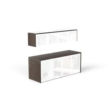 credenza glass doors double credenza with glass doors