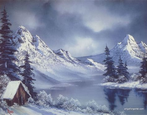 bob ross paintings winter bob ross winter paintings the painting gallery
