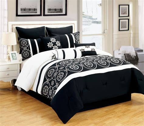 white and black bed set black and white comforter sets king pictures to pin on
