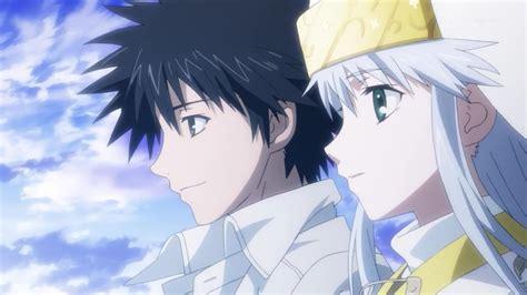 to aru majutsu kamijou touma screenshot zerochan anime image board