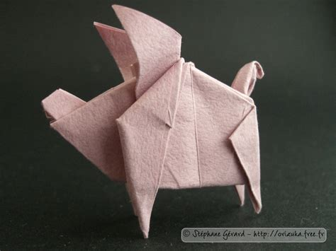 origami pig dollar 1000 id 233 es sur le th 232 me dollar origami sur