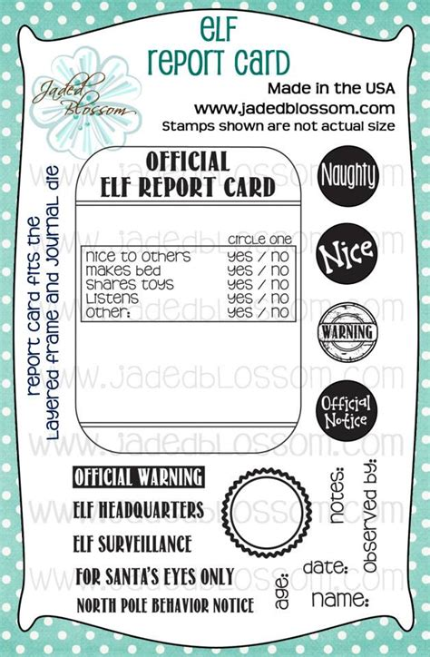 make your own report card winter