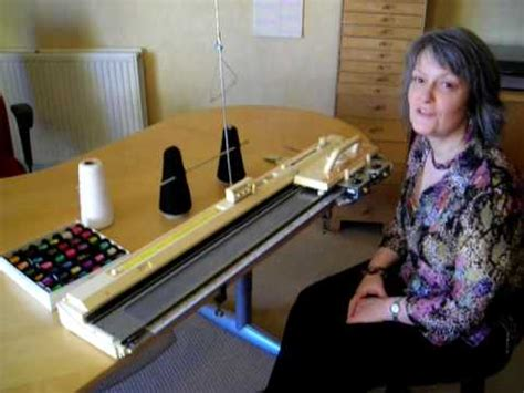 what is machine knitting machine knitting with wire