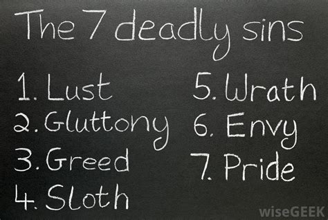 seven deadly sins what is the greatest world without end eph