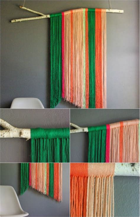 hanging craft projects 26 easy and gorgeous diy wall projects that absolutely