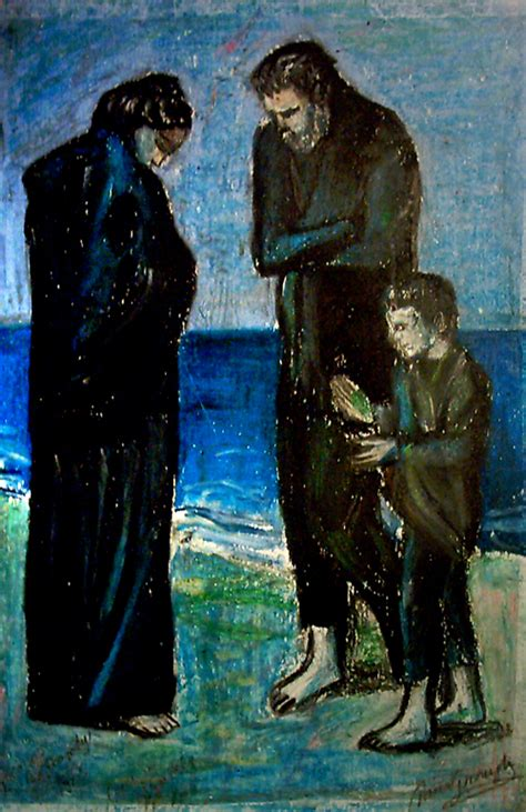 picasso paintings the tragedy picasso s quot tragedy quot by ramira on deviantart