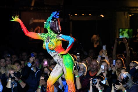 swiss painting festival swiss bodypainting festival corpi dipinti ad arte