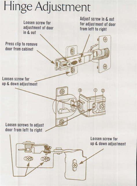 adjusting cabinet door hinges 28 kitchen cabinet door hinges adjustments how to