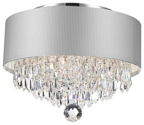 white drum chandelier 3 light chandelier with white drum shade chrome