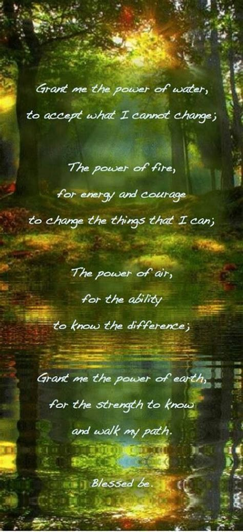 witches prayer pagan serenity prayer witches of the craft 174