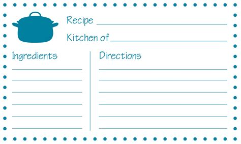 how to make recipe cards on word custom card template 187 word recipe card template 4x6