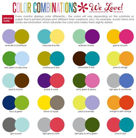 best color combinations 25 best ideas about color combinations on