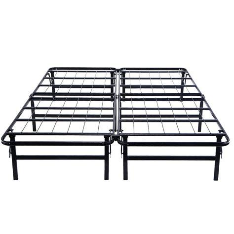 size foldable platform metal bed frame beds bed