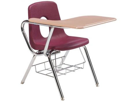 Tablet Arm Chair Desk by Tablet Arm Chair Desk Woodstone Top 18 Quot H Student Chair