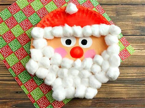 santa paper crafts 12 easy santa crafts for