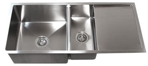 kitchen sink with drainer board 42 quot stainless steel undermount kitchen sink w drain board