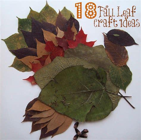 autumn leaf crafts for 18 fall leaf craft ideas liz