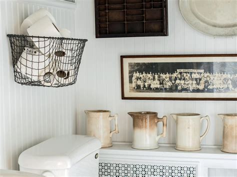 Bathroom Basket Ideas by Easily Boost Bathroom Storage With Wall Mounted Baskets Hgtv