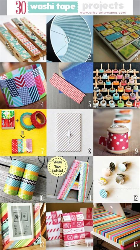 washi craft projects 30 washi projects