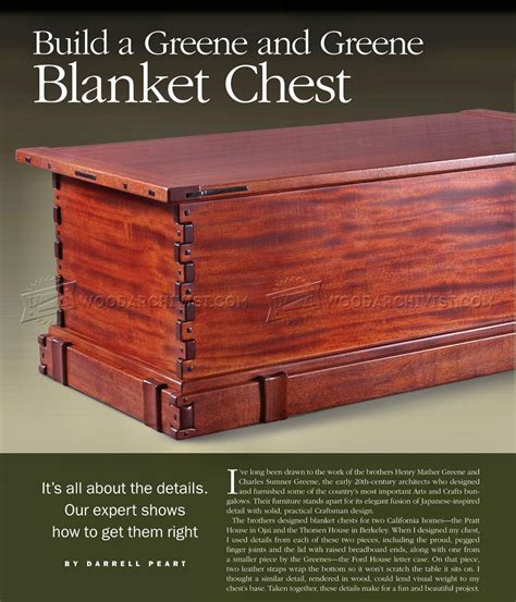 blanket chest woodworking plans blanket chest plans woodarchivist