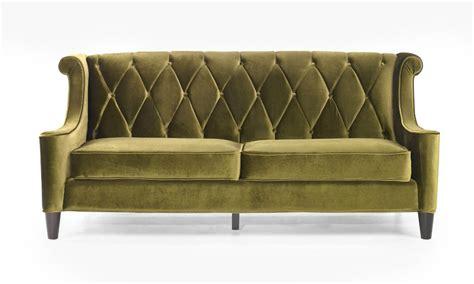 retro modern sofa barrister retro sofa in mid century modern green velvet