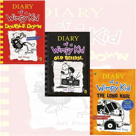 the diary of a series 1 diary of a wimpy kid book series 9 11 collection 3 books