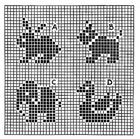 free knitting charts and motifs free knitting patterns animal motifs simple free